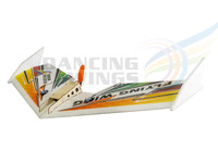 Free Shipping EPP Foam Airplane 600mm Rainbow RC Flying Wing Model Aircraft 3CH Electric RC Plane Trainer for Beginners