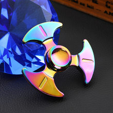 Allure Kinetic Zinc Alloy Hand Spinner EDC Fidget Hand Spinners Autism ADHD Kid Finger Toy Spinners Focus Relieves Stress Adhd E(China)