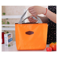 ISKYBOB Insulated Tinfoil Aluminum Cooler Thermal Picnic Lunch Bag Waterproof Travel Box Lunch Bags
