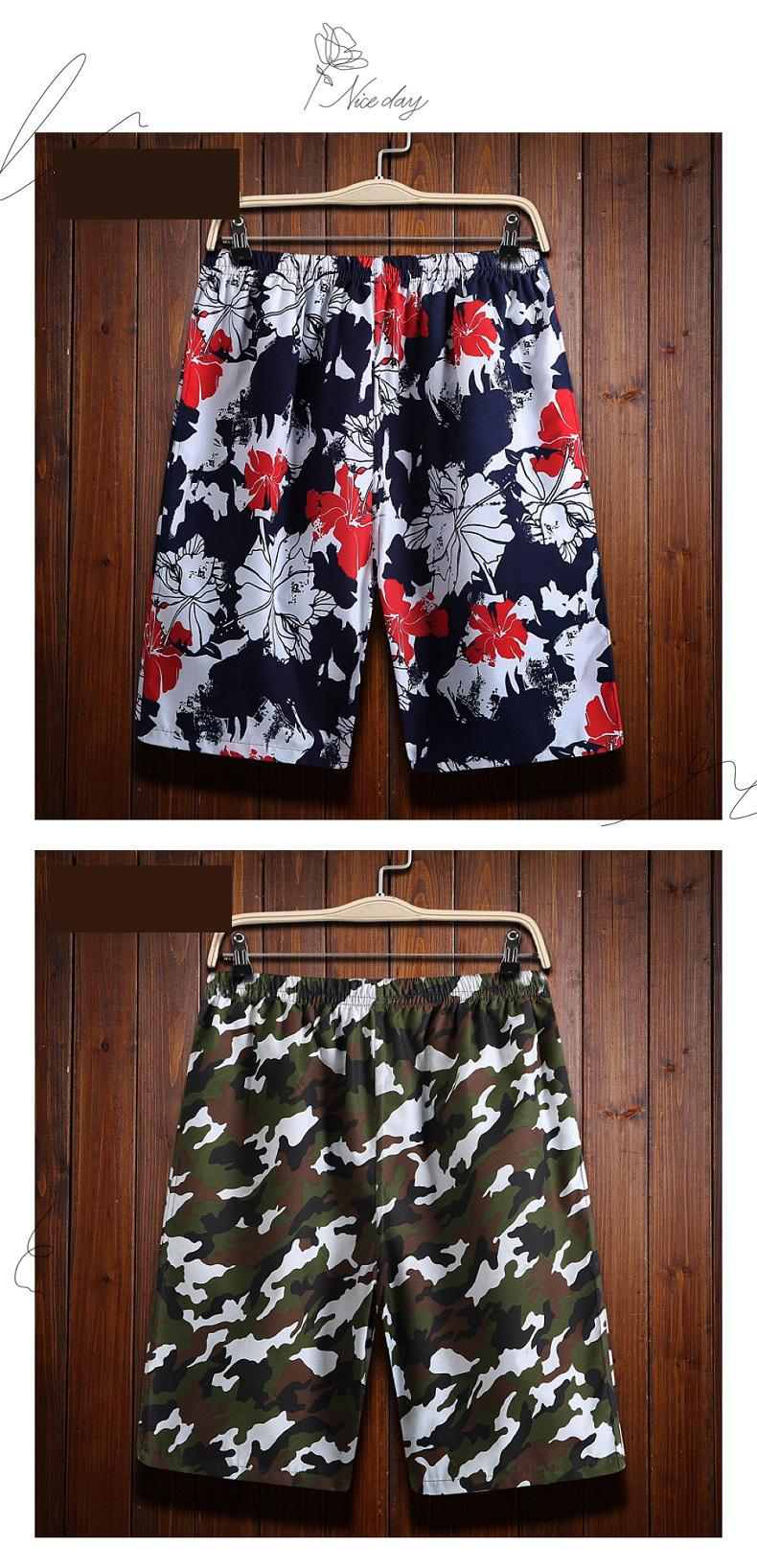 10 Patterns Camouflage Compression Shorts Men Summer Clothing Board Shorts Nylon Bottom Men Side Pockets Men's Swimwear 4