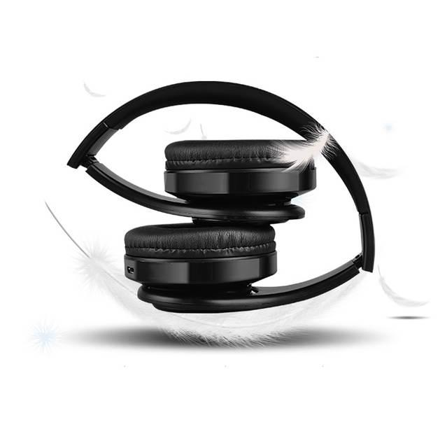 Online Shop Stereo Handsfree Headfone Casque Audio Headphones Bluetooth Headset Earphone Wireless Headphone For Computer PC Aux Head Phone