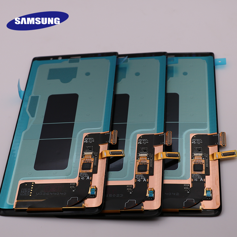 New 6.3″ Original SUPER AMOLED Display For SAMSUNG Galaxy NOTE8 LCD N950 N950F Display Touch Screen Replacement Parts+Frame