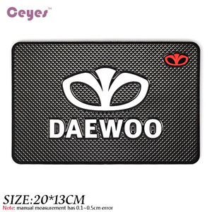 Image 3 - Car Styling Mat Car Sticker Emblems Badge Case For Daewoo Logo Winstom Espero Nexia Matiz Lanos Interior Accessories Car Styling