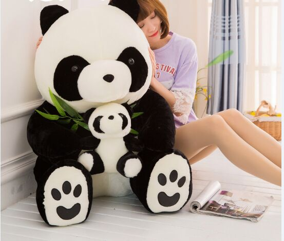 huge 70cm lovely gaint panda plush toy soft doll hugging pillow toy Christmas gift w0953 huge 120cm cute cartoon dinosaur plush toy down cotton soft doll hugging pillow christmas gift b1490