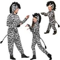 IREK Novo Cosplay Halloween zebra selvagem animal de Partido Do Traje Performance de Palco Traje Africano Direto Da Fábrica de Alta Qualidade