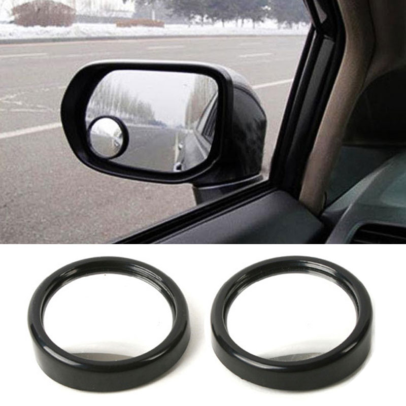 par de ancho ngulo lateral auto redondo convexo espejo de coche vehculo zona muerta
