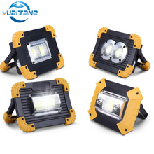 100W Led Portable Spotlight 30000lm Super Bright Work Light Rechargeable for Outdoor Camping Lampe Flashlight use 18650