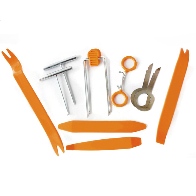 Professional Hand Tool 12pcs/set Car Door Panel Audio dashboard Remove Install Pry Kit Refit Set Repairing Tools