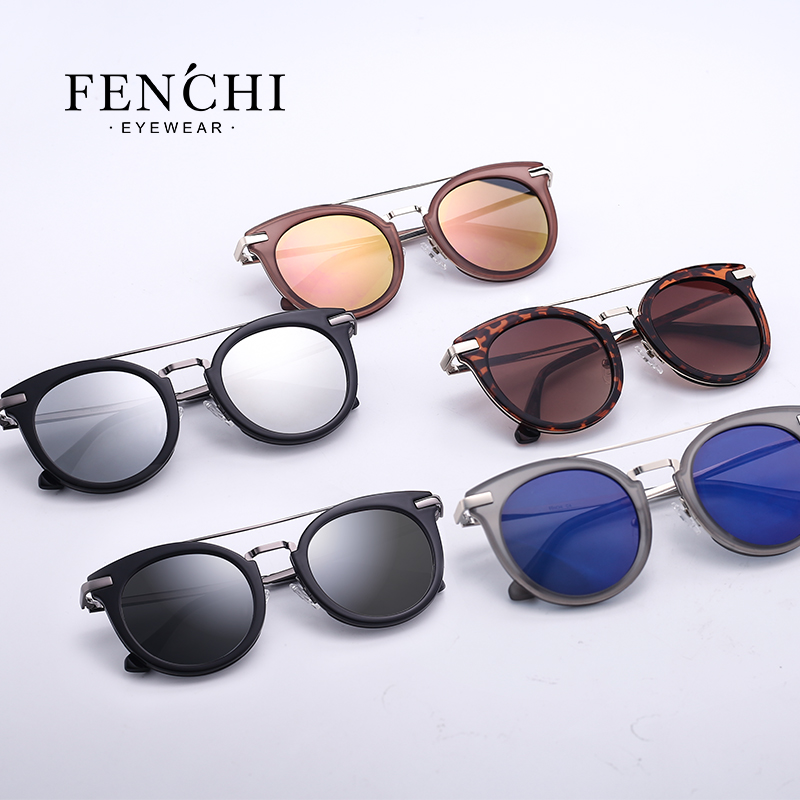 2019 new polarized lady sunglasses fashion trend frame series sunglasses 6