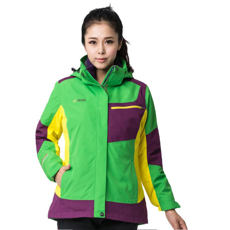 Women's climbing outdoor windproof warm two pieces of a three-in-one charge clothing girl, autumn and winter and a heavy coat 1 fred blunt one two three