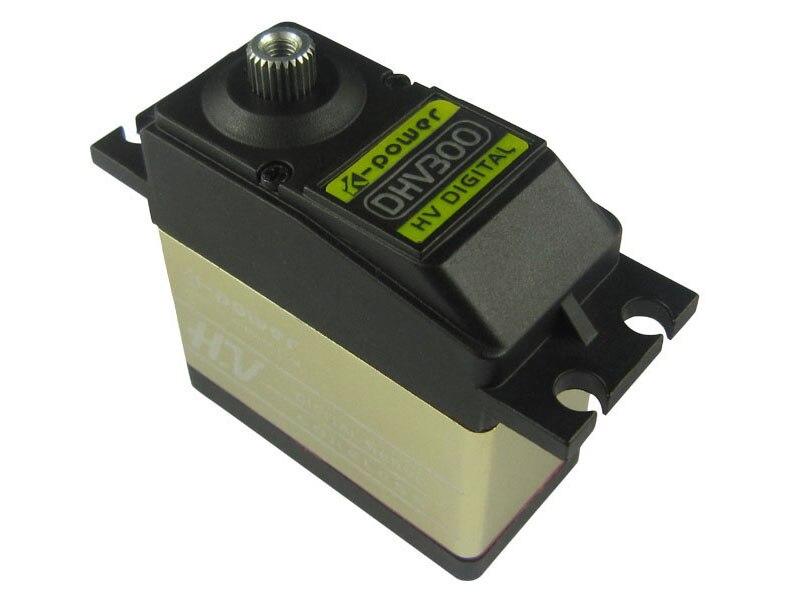 K-power DHV300 30.6kg sans noyau Servo numérique pour 700-800 classe Heli Swashplate (prise: JR)