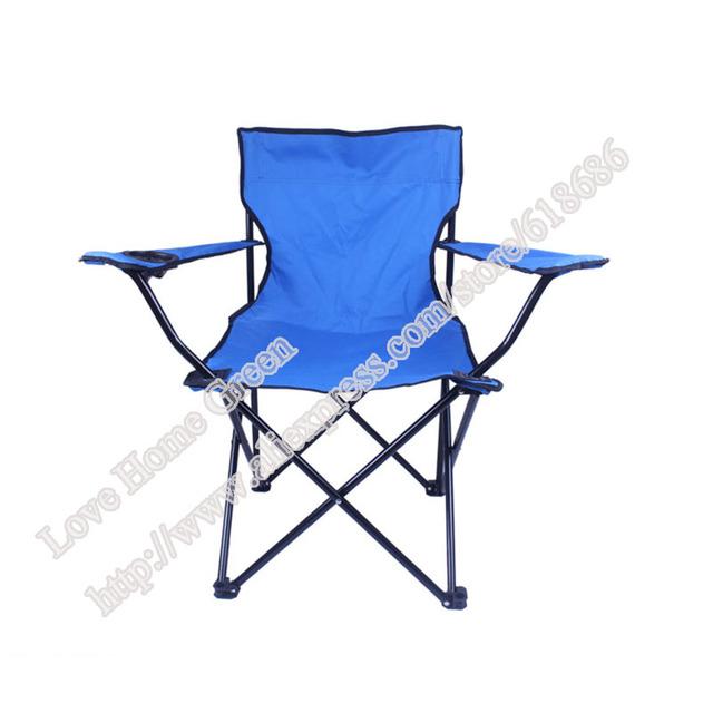 Cadeira de praia cadeira dobrável cadeira de pesca cadeira de acampamento ao ar livre Grande Azul ocasional