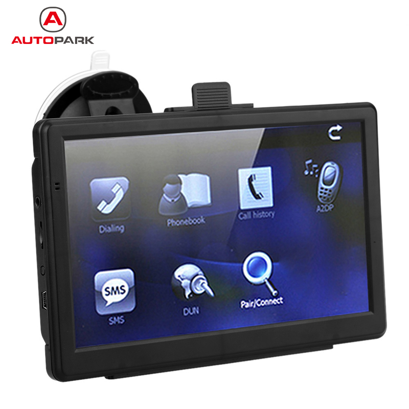 7 HD Touch Screen Portable Car GPS Navigation 128MB RAM 4GB FM Video Play Car Navigator
