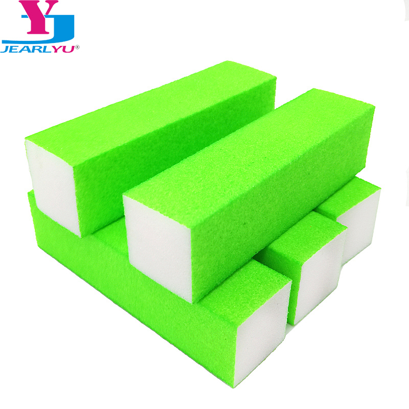 New 5pcs/pack Nail Buffers Buffer Lime A Ongle Professional File Tips Tools Art High Qualtity Sponge Block Forms Four Sides File