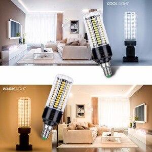 Image 5 - CanLing E14 LED מנורת E27 LED הנורה SMD 5736 220 V תירס הנורה 28 40 72 108 132 156 189 נוריות נברשת LED אור עבור עיצוב הבית