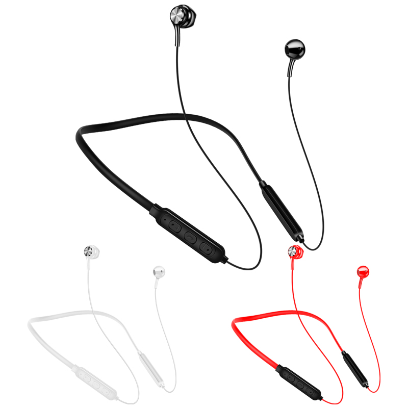 New Wireless Bluetooth Earphones Magnetic Stereo Sports Headset IPX7 Waterproof Wireless Headphone With Mic For Smartphones UM