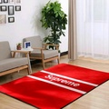 Fashion H letter area rugs supreme carpet  bedroom orange kids playing mat sofa carpet hot selling
