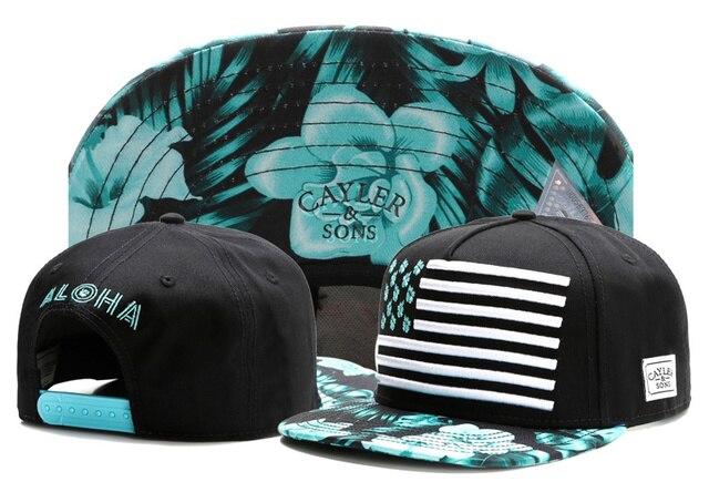 c17945c0fe5 Summer new style floral printed strap bones snapback caps for men hip hop cap  baseball women casual gorras cayler sons plana