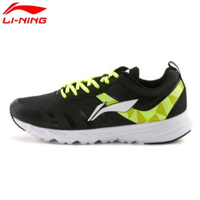 Li-ning hombres originales zapatos lining cojín zapatos corrientes de luz transp