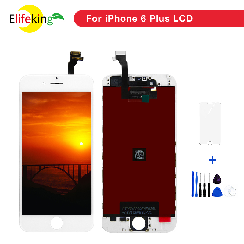 10PCS Lot 5 5 6 Plus LCD Mobile Spare Parts Replacement LCD Screen For iPhone 6