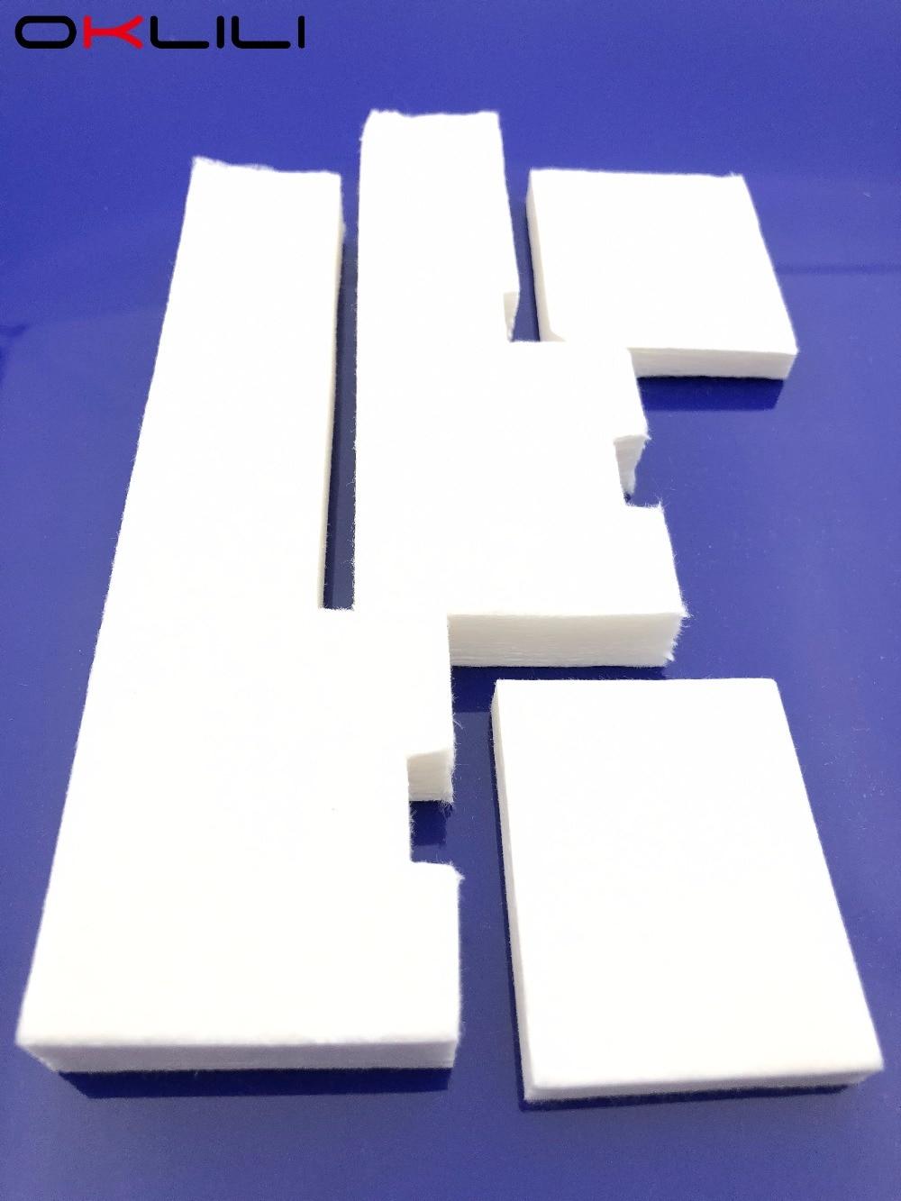 Tray Porous Pad Waste Ink Tank Sponge for Epson ET2500 ET2550 L120 L455 L456 TX235W TX430W SX230 SX235W SX430W SX435W SX440W 10pcs for epson dx5 uv printer ink damper for epson stylus proll 4000 4800 7400 7800 9800 9400 9450 flat printer uv ink damper