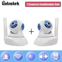hot deal buy lintratek ip surveillance camera wifi mini security cctv camera home ptz 720p camera infrared night vision ipcam