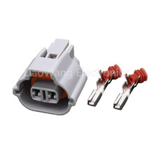 5PCS 2 hole Automotive wiring harness connector plug with Terminal DJ7027A-2.2-21