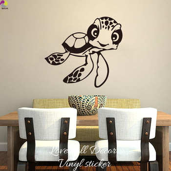 Виниловая наклейка на стену в виде персонажей мультфильма «В поисках Немо», для детской комнаты, для украшения дома