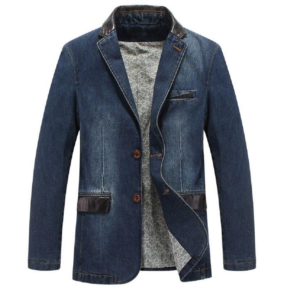 Online Buy Wholesale denim blazer men from China denim blazer men ...