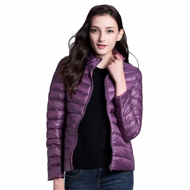 iSHINE Women Double Side Coat Winter Parkas Slim Jackets Brand Design Female Warm Clothing 5