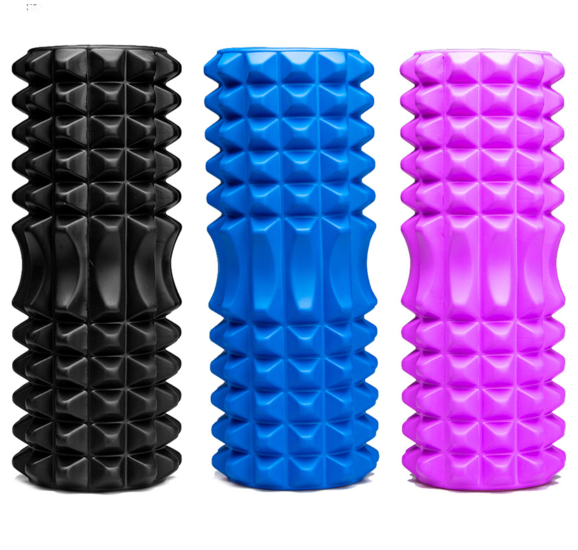 Yoga Foam Pilate Fitness Roller EVA Sports Column Train Gym Physical Massage Grid Floating Trigger Point Therapy Exercise block
