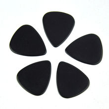 100pcs/lot Celluloid Guitar Picks Plectrums Solid Black 0.71mm 0.96mm for Acoustic Electric Bass