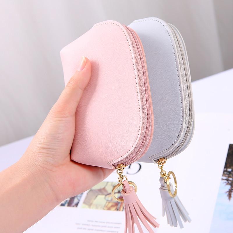 APP BLOG Brand Cute Women's Wallet Coin Purse New Arrival 2017 Fashion Flower Mini Small Leather Female Key Card Bag Keychain 6