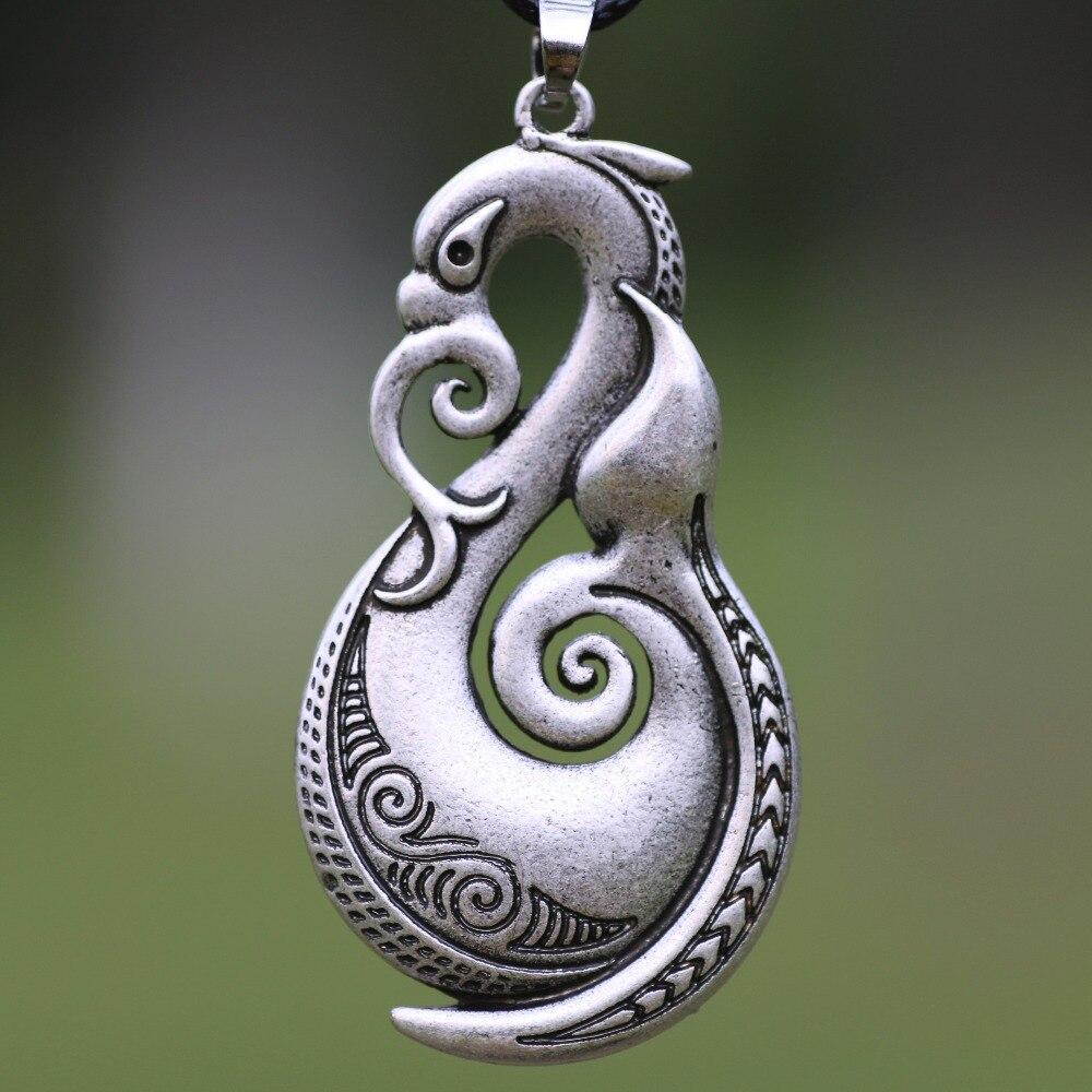 TRIBAL AFRICAN Maori tribu Hawaïen Animal Totem protection étain Pendentif