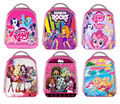 Custom Image/Barble/My Little Pony Frankie Stein Kids School Bags Twilight Sparkle Draculaura Girls Backpack Kindergarten Bag