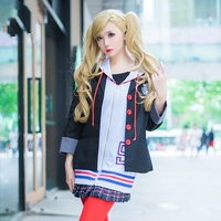 Persona 5 Cosplay Costume Anne Takamaki School Uniform Anime Costume Game Character Cosplay Fancy Party Dress Outfits Adult