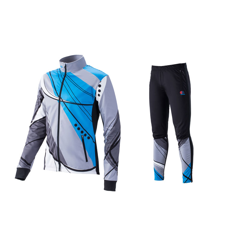 2018 cross country (XC) SKIING softshell warm up suit