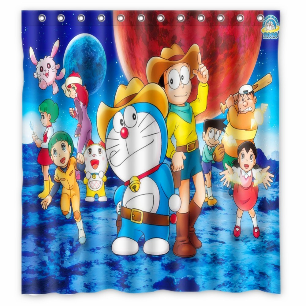 Anime Shower Curtain One Piece Dragon Ball Z Bleach Fairy Tail ...