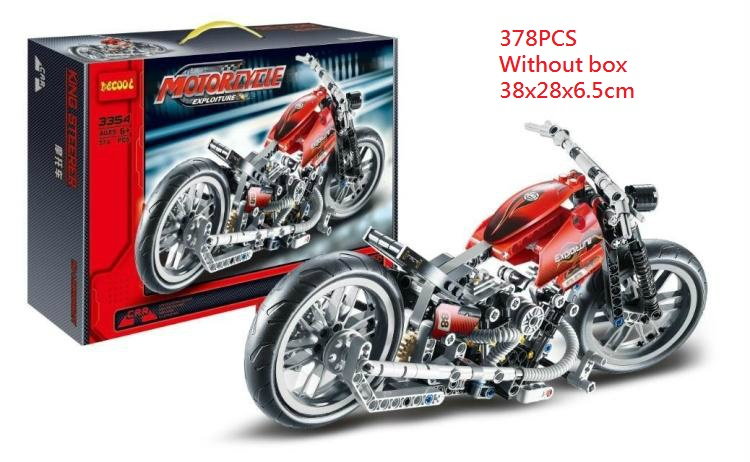 Decool 3353 3354 Harley Vehicle Motor bike building bricks toys with children Gifts Bela 8051 for Lego Technic for minifigure decool 3353 3354 lepin technic motorbike motorcycle car building bricks blocks toys for children boy game gift bela 8051