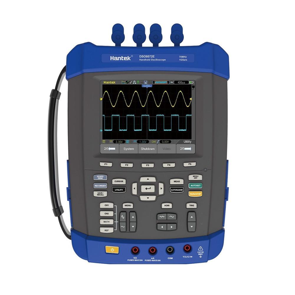 Oscilloscope numérique Portable 2 canaux 200 Mhz 1GS/s taux d'échantillonnage 2 M profondeur de mémoire Portable pour les étudiants Hantek dso8202e