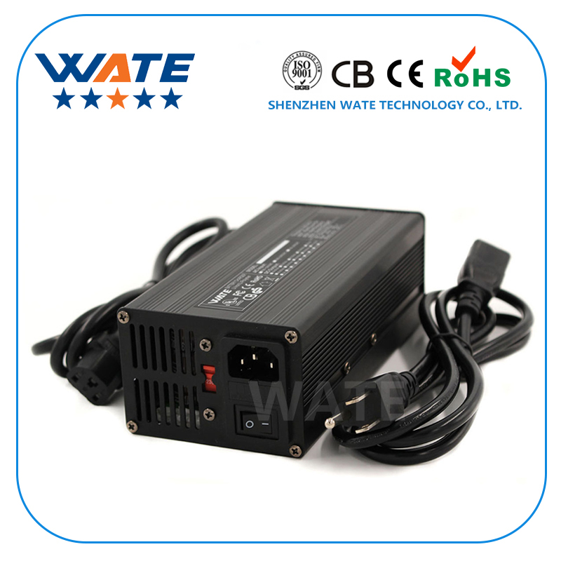 29 2V 11A Charger 8S 24V LiFePO4 Battery Smart Charger With Fan Aluminum Case Robot electric