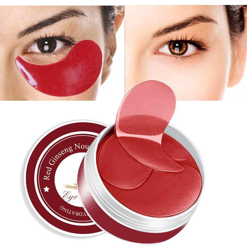 60pcs Eye Masks Face Mask Collagen Crystal Sleep Mask Eye Patches For The Eyes Care Dark Circle Anti-Aging Moisturizing Eye Pads