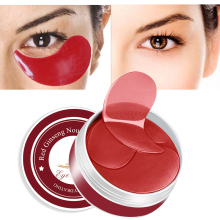 60pcs Eye Masks Face Mask Collagen Crystal Sleep Patches for the Eyes Care Dark Circle Anti-Aging Moisturizing Pads