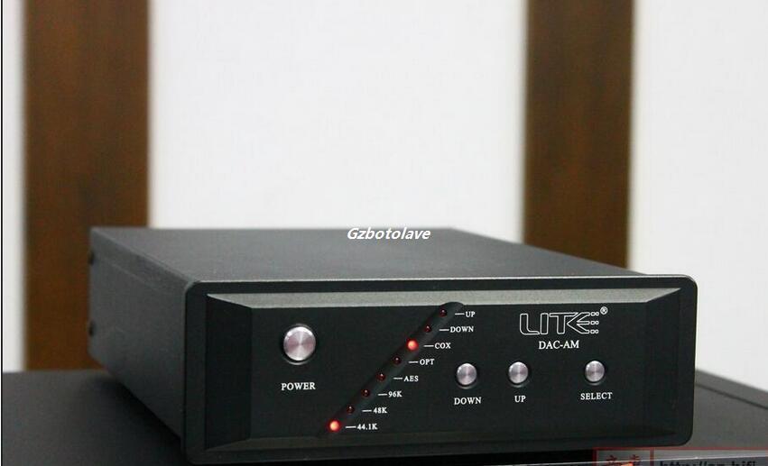 Détails sur LITE AD1853 Salut-end Audio DAC/préampli/Casque amplificateur Multi-fonction DAC