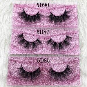 Image 2 - Mikiwi Thick Long 5D mink eyelashes long lasting mink lashes natural dramatic volume eyelashes extension 3d false eyelash