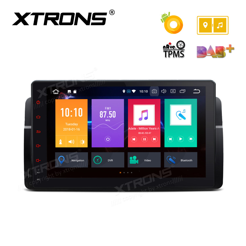 XTRONS Radio 9'' Unit Android 8.0 Octa Core Car DVD Player