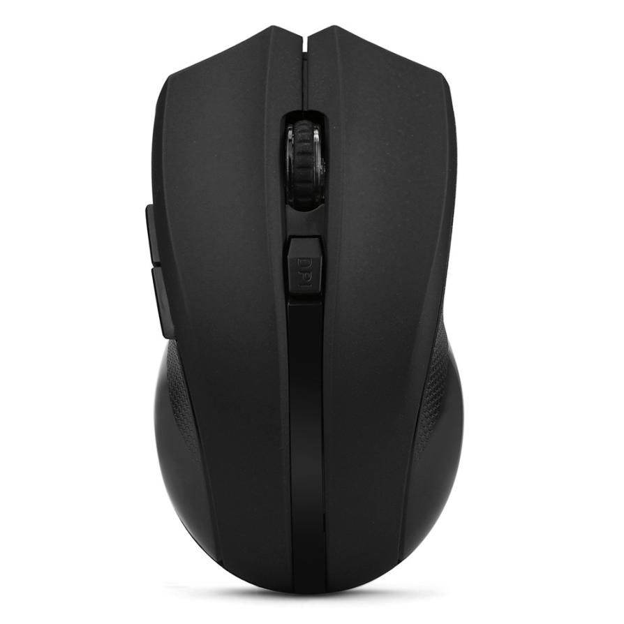 2017 Good Sale Cordless Wireless 2.4GHz Optical Mouse Mice for Laptop PC Computer +USB Receiver J1