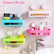 Bathroom Storage Holder Shelf Shower Caddy    Wholesale Hot Sale Tool Organizer Rack Basket Sucker Cup Free Shipping Dec 22