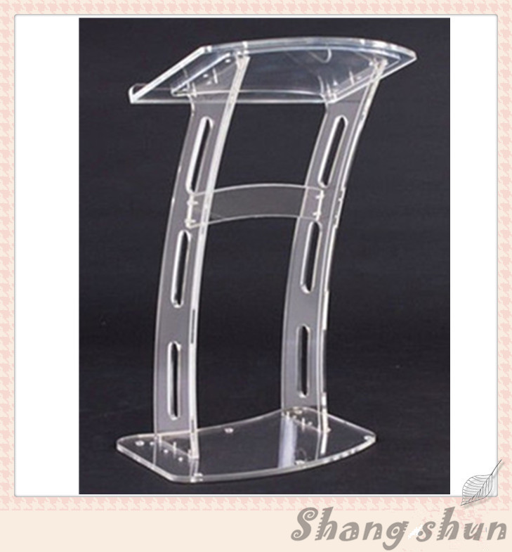 Acrylic Desktop Lectern / Acrylic Church Podiums / Acrylic Pulpit Plexiglass