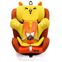 Baby car seat can be rotated car seat five point ISOFIX interface 2 12 years old baby universal